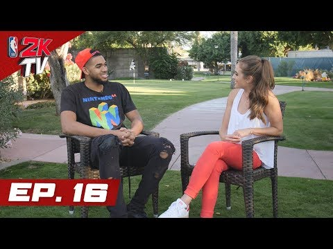 Karl-Anthony Towns on Scouting Opponents with 2K & More! - NBA 2KTV S4. Ep.16
