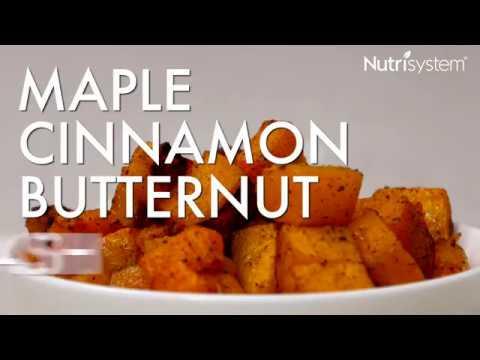 Maple Cinnamon Butternut Squash