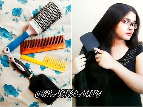 Howto Choose The Right Hair Brush and Comb| Hair Styling Tools