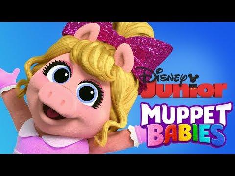 Muppet Babies | Little Miss Piggy Mini Games For Children | Disney Junior App For Kids