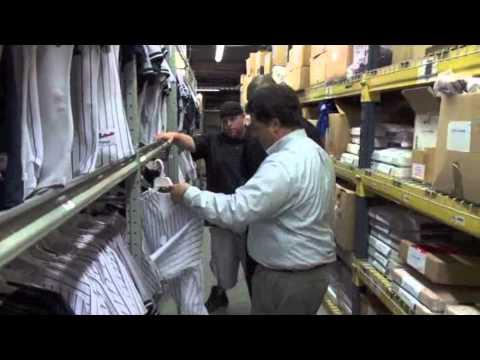 Robbie's First Base Tours The Steiner Warehouse   Steiner Sports Memorabilia
