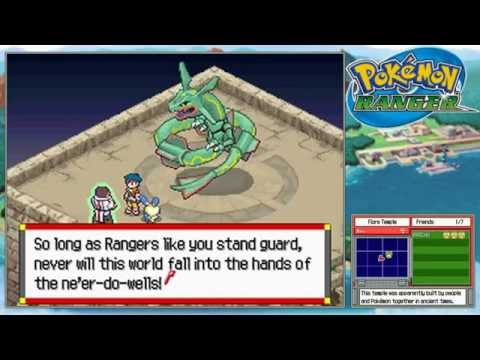 Let's Play Pokemon Ranger *Part 25* Rayquaza