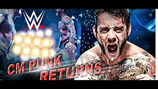 Will CM PUNK RETURNS TO Ink WWE CONTRACT BACKSTAGE NEWS?!
