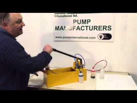 reverse osmosis hand pump