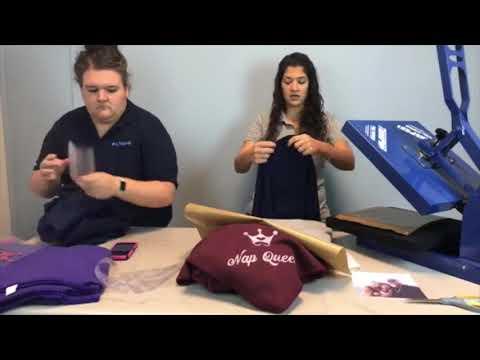 Facebook Live 10/13/17: Customizing Blankets with Siser Flock & Glitter Vinyl!