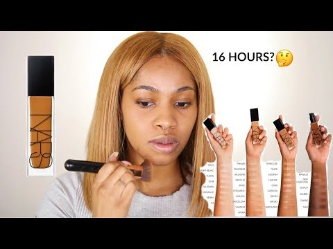 NEW NARS Natural Radiant Foundation & 15 Hour Wear Test!  | Dana Alexia