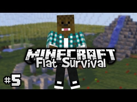 Minecraft - Flat Survival - In Nether! [Ep.5]