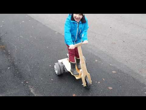 DIY Electric Scooter. Awesome