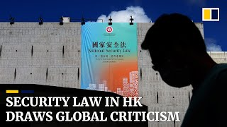 Beijing's passage of national security law for Hong Kong draws international criticism