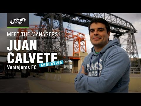 Meet The Managers #7 | Juan from Argentina | Top Eleven