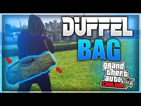 GTA 5 Online: GREEN DUFFEL BAG GLITCH - After Patch 1 39