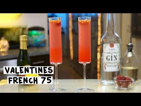 Valentine's French 75 - Tipsy Bartender