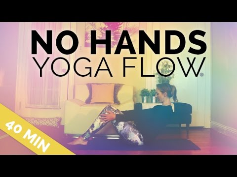 No Hands or Hands Free Yoga Flow | Perfect for Arthritis, Broken & Injured Wrist, Hand Yoga Sequence