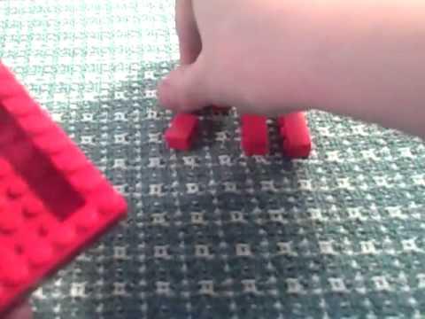 How to make a lego mini figure display case
