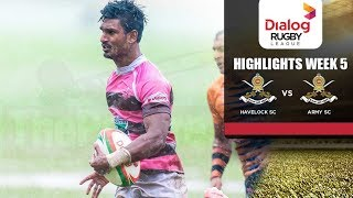 Match Highlights - Army SC vs Havelock SC DRL 2017/18 #20
