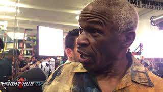 MAYWEATHER SR SHOWS HOW FLOYD WILL BEAT CONOR MCGREGOR