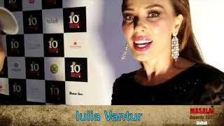 Iulia Vântur Comments On Salman Khan – Katrina Kaif Starrer Tiger Zinda Hai | Masala Awards Dubai