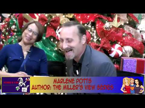 Literature Through Rose Colored Glasses W/Author Marlene Potts interview on the Hangin With Web Show