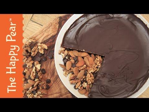 Chocolate Salted Caramel Tart Recipe - The Happy Pear