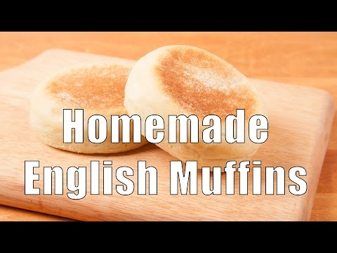 Homemade English Muffins (Home Cooking 101) DiTuro Productions