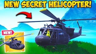 *NEW* SECRET HELICOPTER FOUND! - Fortnite Funny Fails and WTF Moments! #499