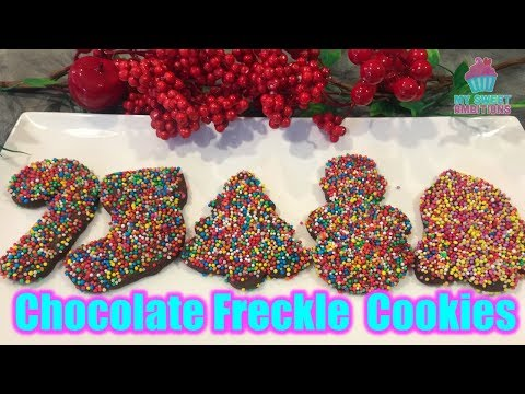 Chocolate Freckle Cookies
