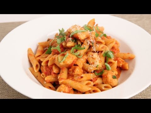 Penne Vodka with Chicken Recipe - Laura Vitale - Laura in the Kitchen Episode 862
