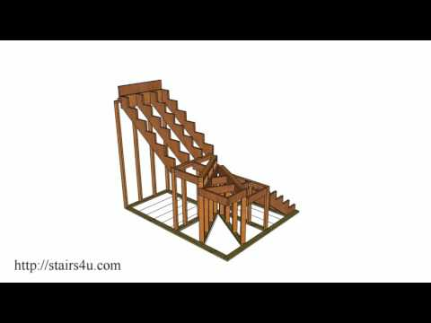 How To Build And Frame Winding Stairs – Example 2
