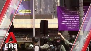 Chaos on the streets as Hong Kong marks handover anniversary