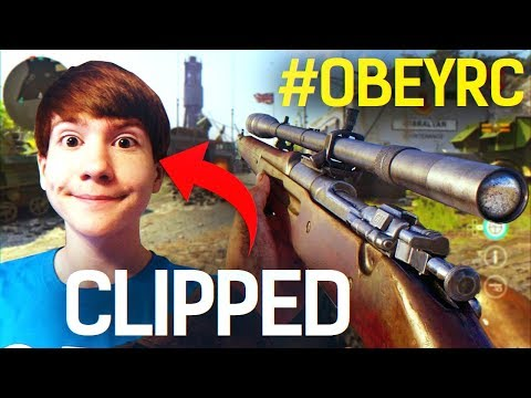 HE HIT A CLIP ON FAZE BLOO! - Best #ObeyRC Clip Reactions #2 (Funny & Epic COD WW2 Moments)