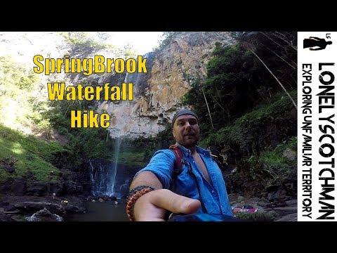 Springbrook Waterfall Brisbane
