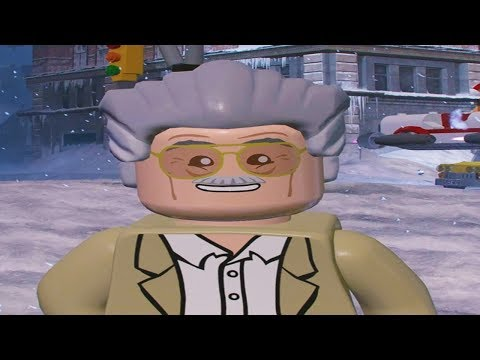 All Stan Lee in Peril Locations in Free Roam - LEGO Marvel Super Heroes 2