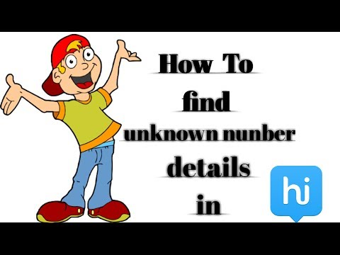 Find unknown numbers details using hike