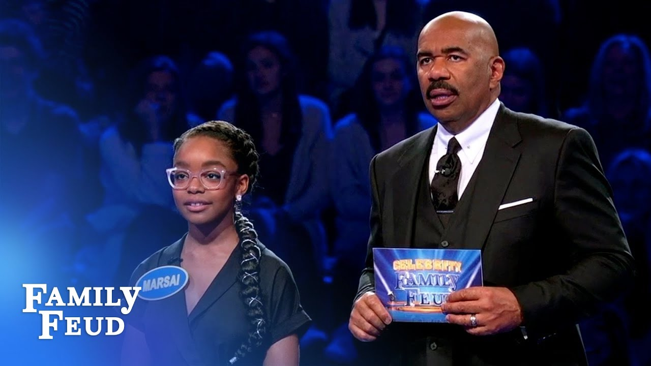 Can Marsai and Miles lead Team black-ish to $25,000?   Celebrity Family Feud