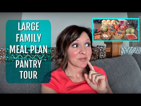 March Meal Plan | Walmart Grocery Pick Up | Pantry Tour