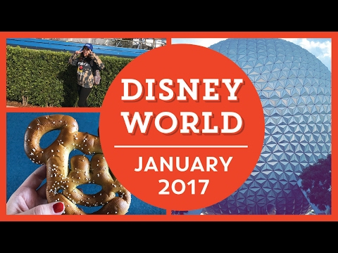 DISNEY WORLD VLOGS | JAN 2017 | Day 3 - Epcot & Disney Springs