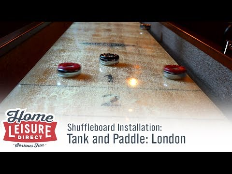 Shuffleboard Tables for The Tank and Paddle: London