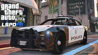 GTA V LSPDFR #192 NYPD 2017 Dodge Charger Pursuit - PakVim net HD