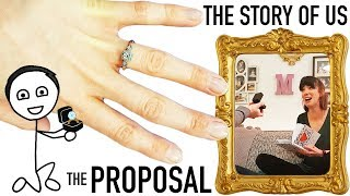 THE STORY OF US - AN AMAZING LOVEBOOK PROPOSAL