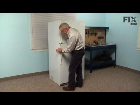 Whirlpool Refrigerator Repair – How to replace the Fresh Food Door Gasket