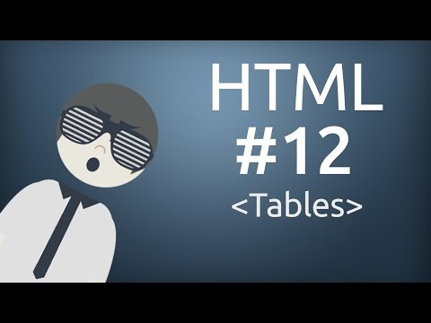 HTML For Beginner : How to use Row and Columns in Table