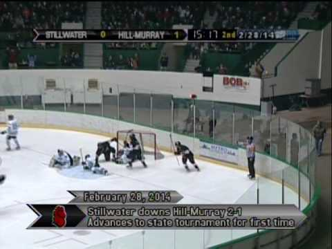 Last game at the Coliseum - Hill-Murray vs Stillwater - February 28, 2014