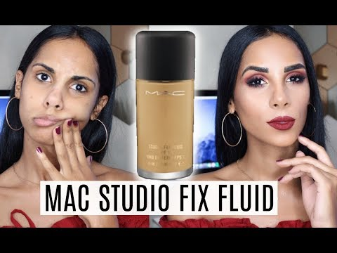 Mac Studio Fix Fluid - REVIEW & DEMO