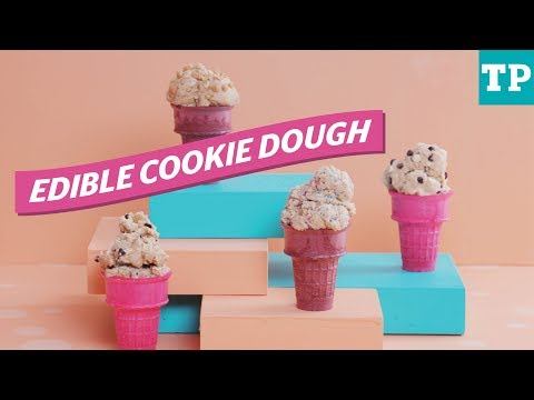 Baby shower recipe: How to make edible raw cookie dough | Eats + Treats