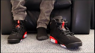 info for f4755 18575 Jordan Retro 6 Infrared on feet Videos - 9tube.tv
