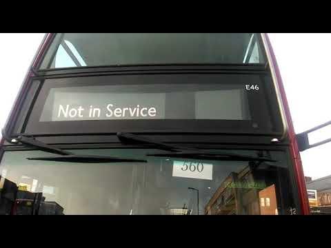 Blind change on Sullivan Buses E46 (SN12 AVV)