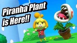 Piranha Plant is Here!! - Smash Bros Ultimate First DLC Fighter
