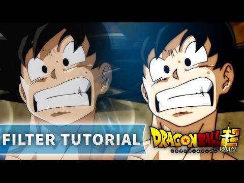 Creating Dragon Ball Super's New Filter - Tutorial