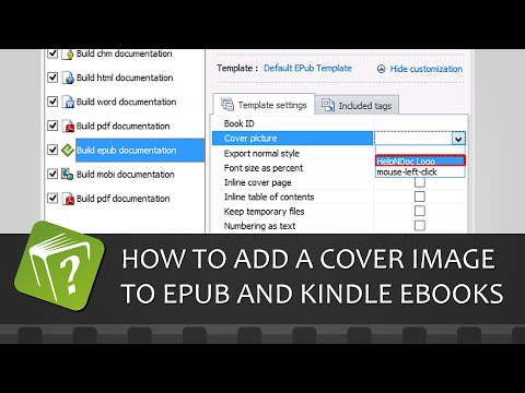 How to add a cover image to ePub and Kindle eBooks (Step-by-step guide)