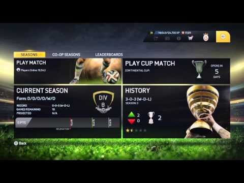 Fifa 15 | How To Fix Co-op Seasons And Online Seasons Error (Ps/Xbox)